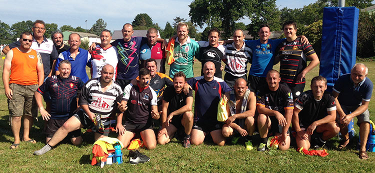 Entrainement rugby Redon