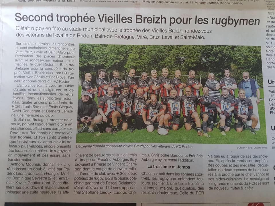 Article ouest-france Pierre Jolu